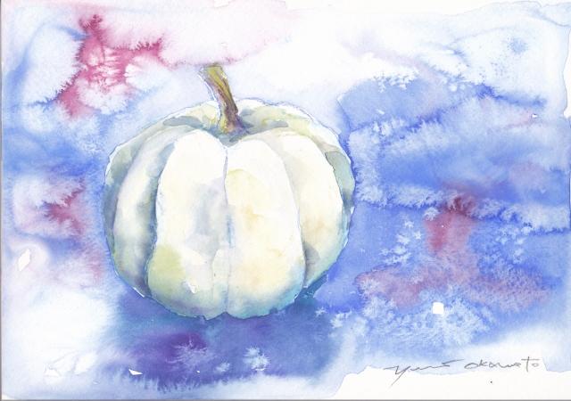 10月水彩色えんぴつ教室  Halloween  Ⅱ
