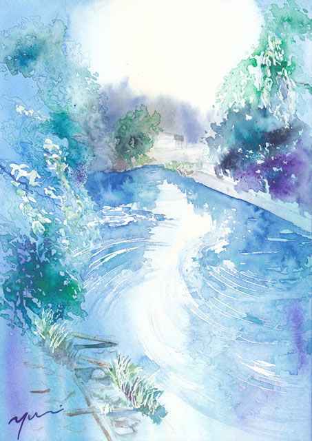 10月水彩色えんぴつ風景画コース「飛騨高山」
