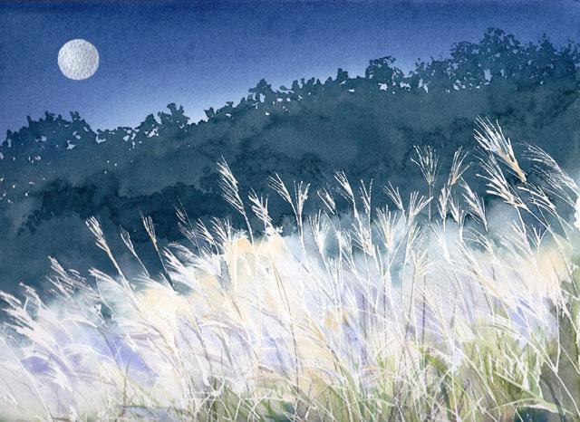 11月産経学園 透明水彩「清浄の風」