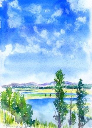 8月のJTB風景画コース