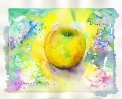 10月の水彩色えんぴつ教室 モチーフ