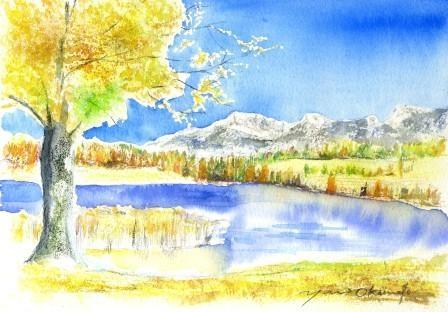 12月朝日カルチャーセンター 風景画コース