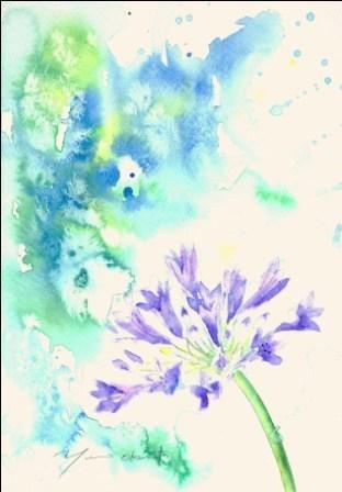 7月の水彩色えんぴつ教室 モチーフ