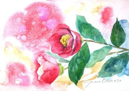 12月の水彩色えんぴつ教室 モチーフ