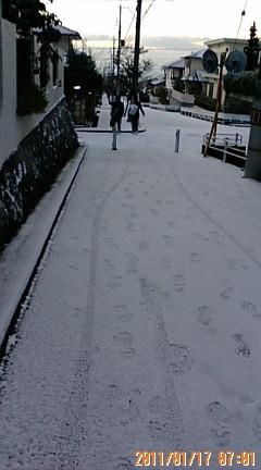 117の日…雪