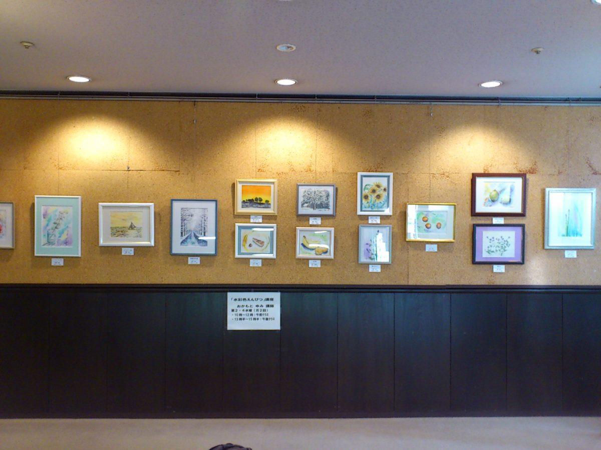 毎日文化センター 受講生作品展 開催中