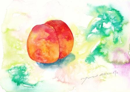 8月の水彩色えんぴつ教室 モチーフ