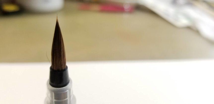 ナムラ「馬毛水筆ペンのお手入れ」について