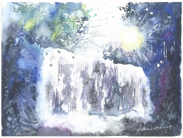 滝 「鍋が滝」と「龍頭が滝」